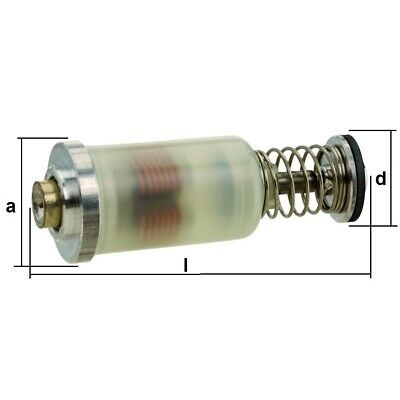 Magneteinsatz Typ 5x für Gasgeräte z.B. Gasherd Gasstrahler Grill Bräter