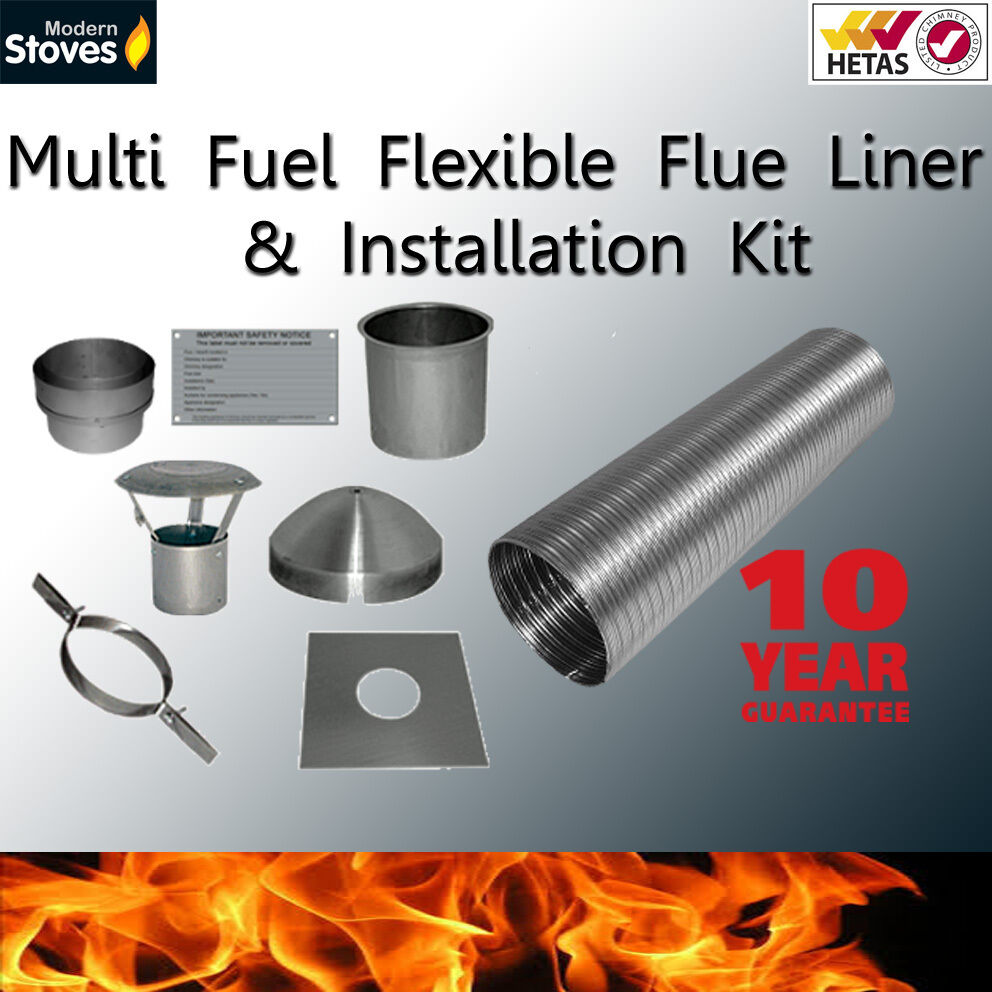 Flexible Flue Liner Installation Kit Mutli Fuel Amp Wood