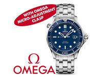 Omega Seamaster - 21230412003001 - Swiss Dive Watch - Warranty + Additional Mico-Adjustment Clasp