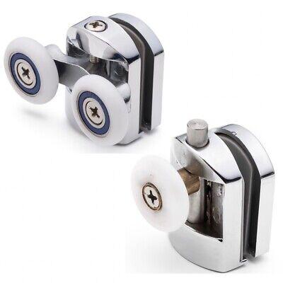 Conjunto De 2 Rodamientos Mampara / Pasillo/ Repuestos/ Guías 26mm Ruedas BE-M24