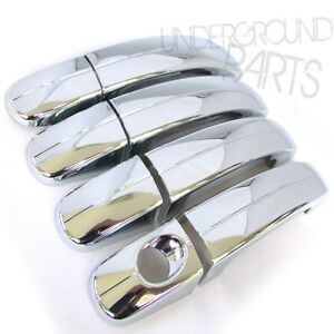 2013 Cmax Door Handle Red Chrome Side Door Handle Covers