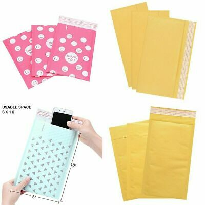 2550pack Multi-size Bubble Letter Envelopes Bag Postal Mailers Shipping Bag