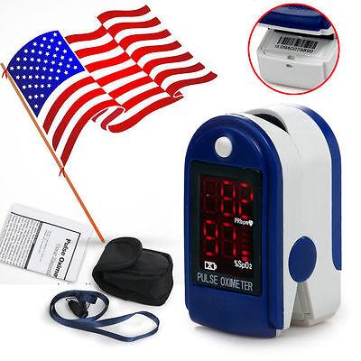 US seller, Finger Tip Pulse Oximeter Blood Oxygen SpO2 Monitor ,FDA CE Approved on Rummage
