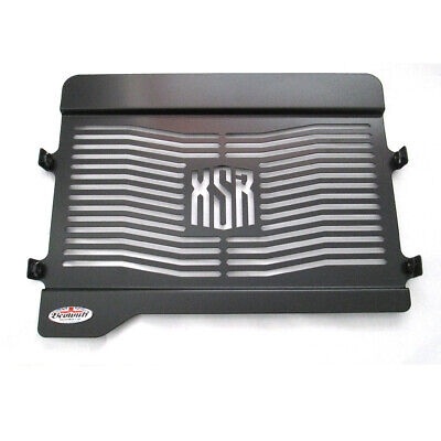 <em>YAMAHA</em> XSR 700 15 19 BLACK STAINLESS STEEL BEOWULF RADIATOR GUARD GR