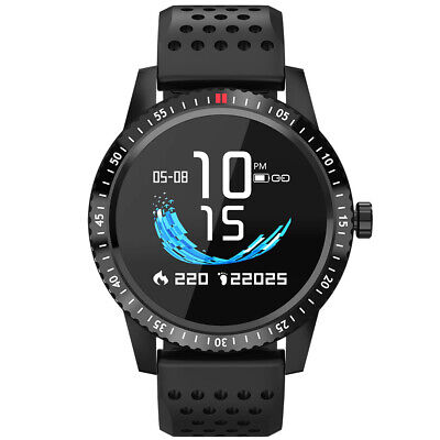 Smartwatch WxW IP67 wasserdicht, IPS, Puls Sport Fitness Uhr Smartband Tracker