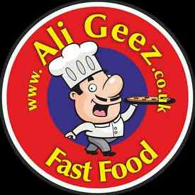 Part-Time Staff for Fast Food Takeaway