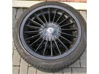Alpina bmw 5x120 18s alloys