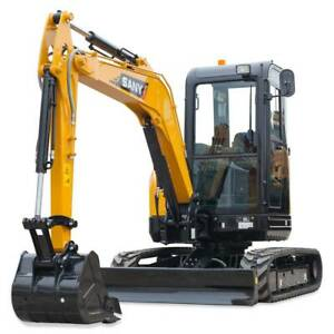 Sany SY35U Excavator Maddington Gosnells Area Preview