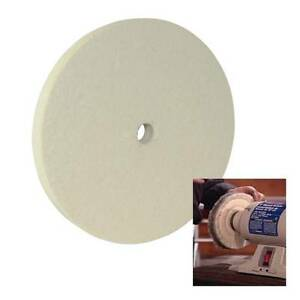 FELT BUFFING WHEEL 150 MM 6