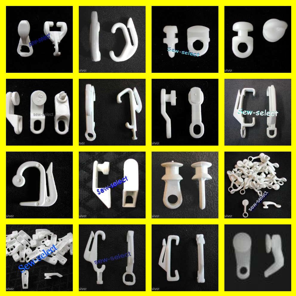 Plastic curtain clips - Glid5463