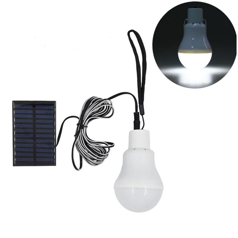 20LED Solar Power LED Bulb Lamp Outdoor Lighting Camp Tent Fishing Yard Light