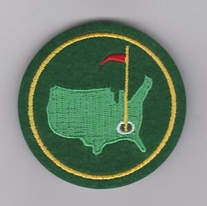 AUGUSTA GOLF MASTERS GREEN JACKET PATCH PGA TOUR