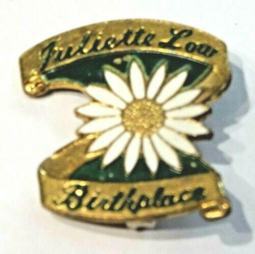 JULIETTE GORDON LOW ~ FONDER OF THE GIRLS SCOUTS 1912 ~ LAPEL PIN