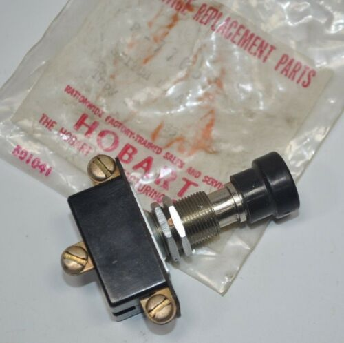 Hobart Double Action Push Switch SPDT Part# P-77053 New Old Stock