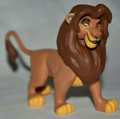 Adult Movie Stores (Disney Store Authentic Adult SIMBA LION KING FIGURINE Cake TOPPER Toy NEW)