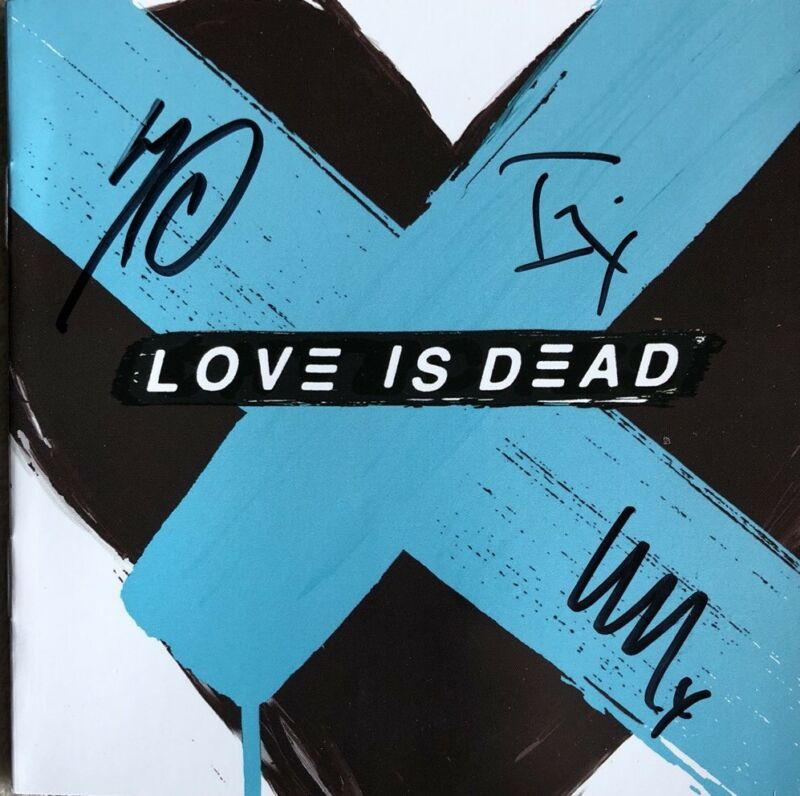 CHVRCHES SIGNED Love Is Dead With Autographed CD Booklet