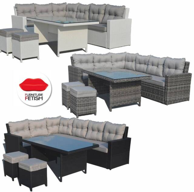 Atlantis outdoor furniture lounge dining combination for Furniture gumtree
