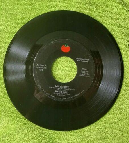 ALBERT KING-LOVE SHOCK / CALL MY JOB / NR MINT PROMO / BOOGIE BLUES 45 FF  - $2.95