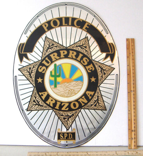 ~SURPRISE ARIZONA~S.P.D.~POLICE~DECAL / STICKER