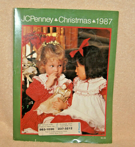 1987 JC PENNEY Christmas catalog - Very Good condition