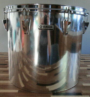 "1980's Yamaha 16"" x 14"" Deep Chrome Wrap Over Wood Concert Tom"