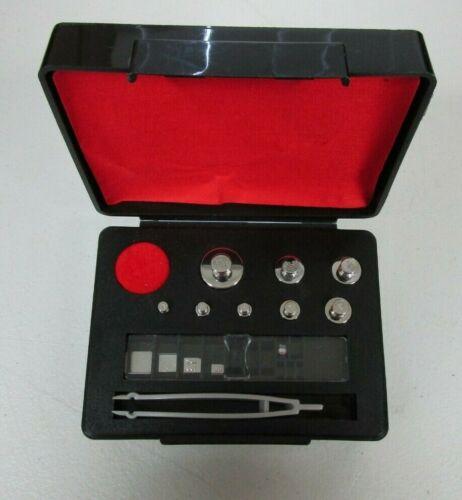 Troemner 10mg-50g Calibration Weight Set  incomplete set
