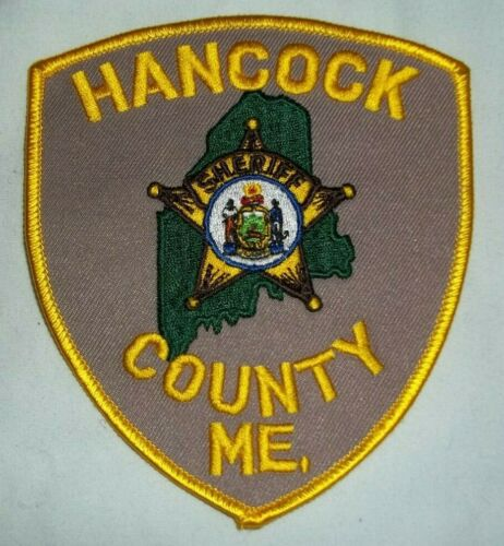 NEW Embroidered Uniform Patch HANCOCK COUNTY SHERIFF