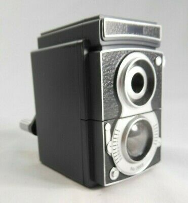 Retro Camera Style Pencil Sharpener Mechanical Hand Cranking Kikkerland