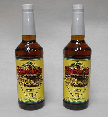 (2 Pack) Gourmet AMARETTO SYRUP 32oz. Coffee Drink & Italian Soda Flavor