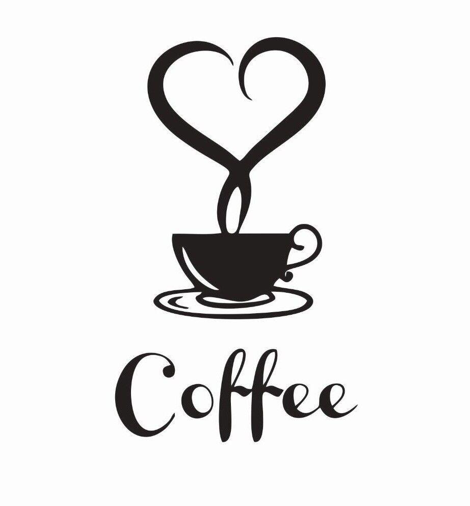 Coffee Lovers Vinyl Die Cut Car Decal Sticker - FREE SHIPPIN