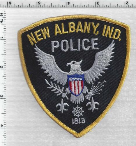 New Castle Police (Indiana) 2nd Issue Shoulder Patch