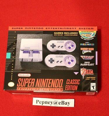 Super Nintendo Entertainment System  Super Nes Classic Edition Mini Brand New