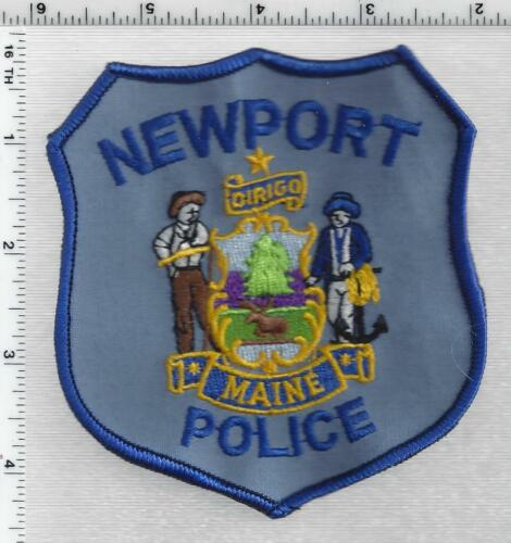 Newport Police (Maine) 2nd Issue Shoulder Patch
