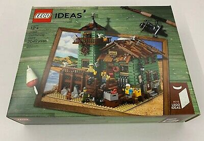LEGO Ideas Old Fishing Store - 21310 - Retired - New Factory Sealed Box - RARE