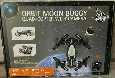 Brand New Remote Orbit Moon Buggy Drone Quad-Copter With Camera - Photogr