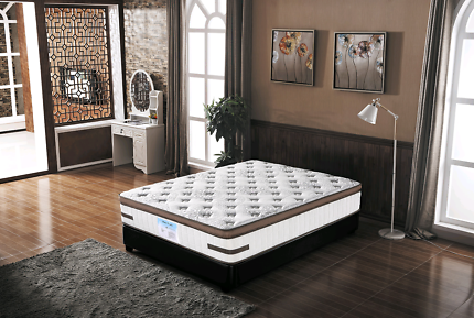 Latex Foam Eurotop Mattress with Individual POCKET SPRINGS