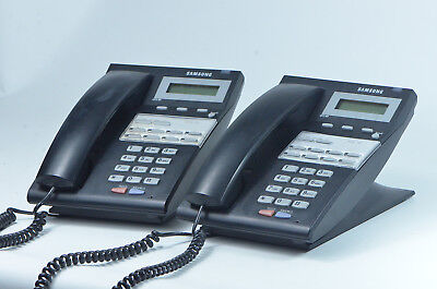 Two 2 Samsung 8d Idcs-8-button Digital Telephones