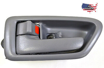 Gray Inside Front / Rear Left Driver Side Door Handle for 97-01 TOYOTA CAMRY