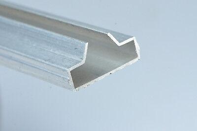 6 X Slatwall Fixture Displays 54 Long Aluminum Slatwall Inserts
