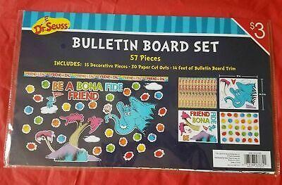 Be Bulletin Board ( Dr. Seuss: Bulletin Board Set - 57 Pieces- Be A Bona Fide Friend)