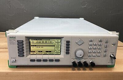 Anritsu 69177b 10 Mhz - 50 Ghz Ultra Low Noise Mw Signal Generator Sweeper