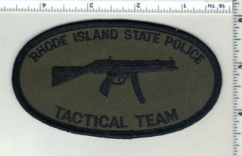 State Police Tactical Team (Rhode Island) 1st Issue Subdued Shoulder Patch