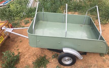 Small trailer suit a Mini, Morris, Moke, Austin, other Vintage Cars Orange Orange Area Preview