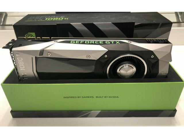 NVIDIA GeForce GTX 1080 TI Founders Edition 11GB GDDR5X Graphic Card