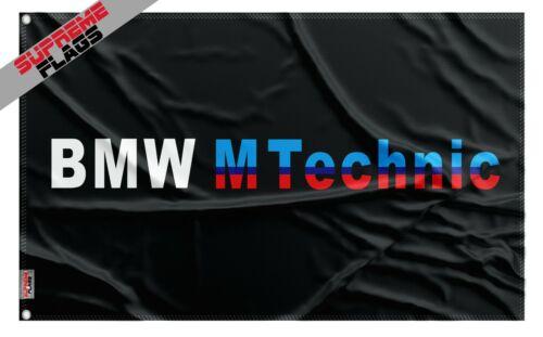 BMW M Technic Flag (3x5 ft) Banner