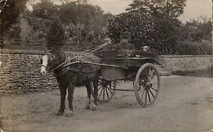 Witcombe-near-Brockworth-written-Cheltenham-posted-Horse-Cart