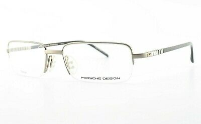 PORSCHE DESIGN P´8121 B 145 CE Brille Titanium Half-Rim Eye Frame Japan NOS (Porsche Eye Frames)