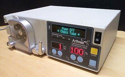 Arthrex Ar-6475 Continuous Wave Iii Arthroscopy Pump Wremote