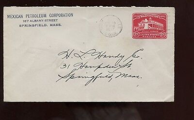 Us New England Stationery Advertising Cover  Mexican Petroleum Corp  1932