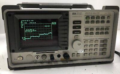 Hp 8593a Portable Spectrum Analyzer W Opt 004 021 Laboratory